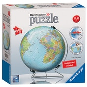 Ravensburger The World on V-Stand Globe 540 Piece 3D Jigsaw Puzzle