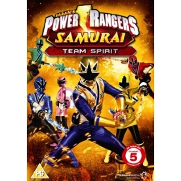 Power Rangers Samurai Vol 3 Team Spirit DVD