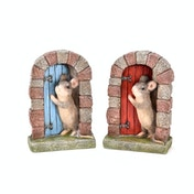 Country Living Mouse Door Ornament (One Random Supplied)