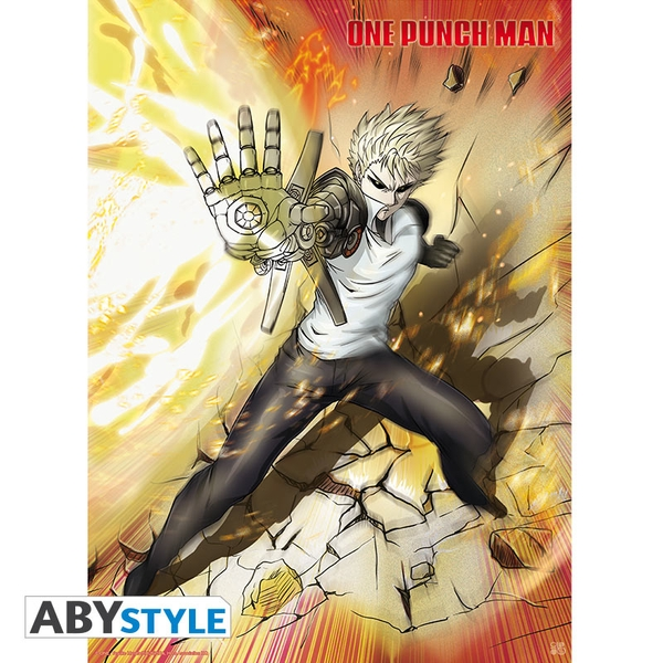 One Punch Man - Genos Small Poster