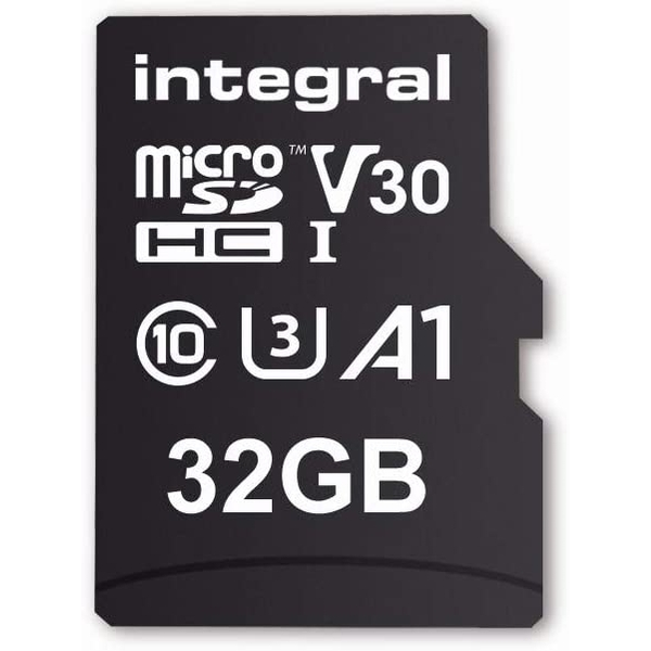 Integral Memory 32 GB microSDxC Premium High Speed Memory Card