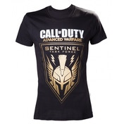 Call of Duty Advanced Warfare Golden Sentinel T-Shirt Large Black