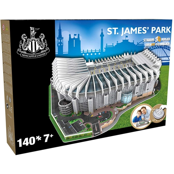 Newcastle United St James' Park Football Stadium 3D Jigsaw Puzzle