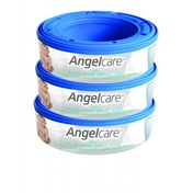 Angelcare Nappy Disposal System Refill Cassettes Pack of 3