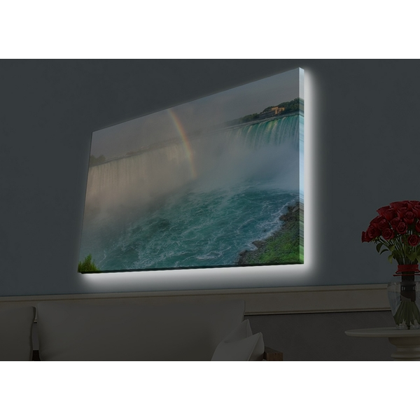 4570HDACT-012 Multicolor Decorative Led Lighted Canvas Painting