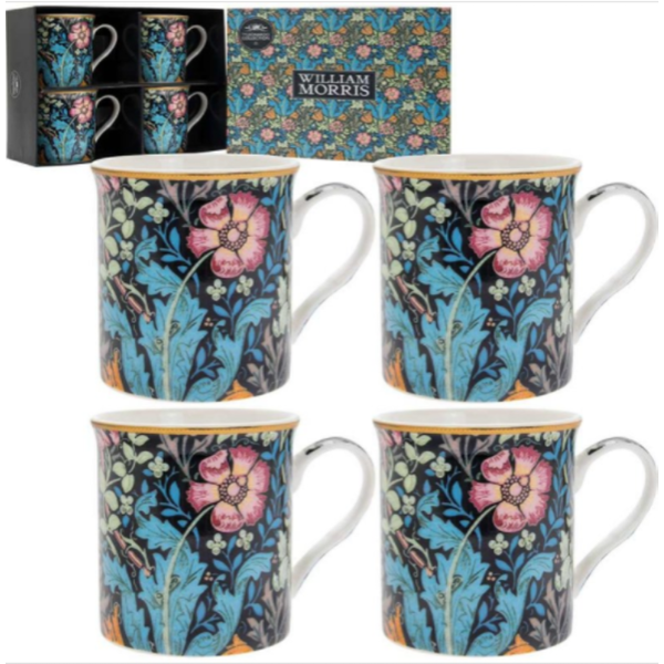 Compton Mugs Set Of 4 By Lesser & Pavey