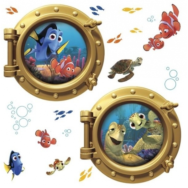 Ex-Display Disney Pixar Finding Nemo Giant Wall Stickers Used - Like New