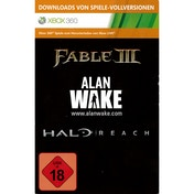 Halo Reach + Alan Wake + Fable 3 (Download Full Game Code) Xbox 360
