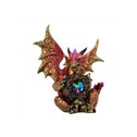 Rainbow Guardian Dragon Statue