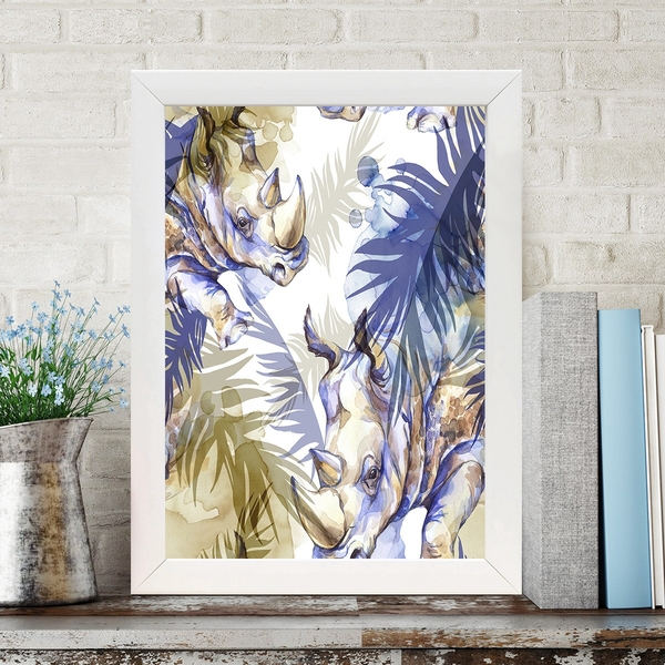 BC722741857 Multicolor Decorative Framed MDF Painting
