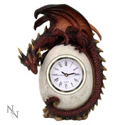 Timeless Guardian Dragon Clock