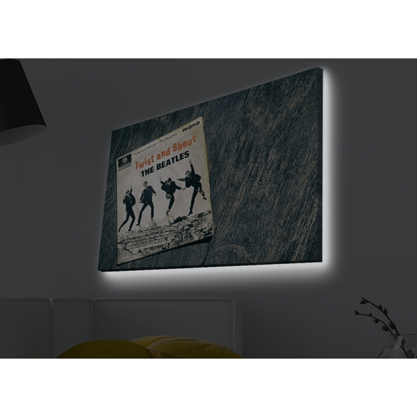 4570MDACT-009 Multicolor Decorative Led Lighted Canvas Painting