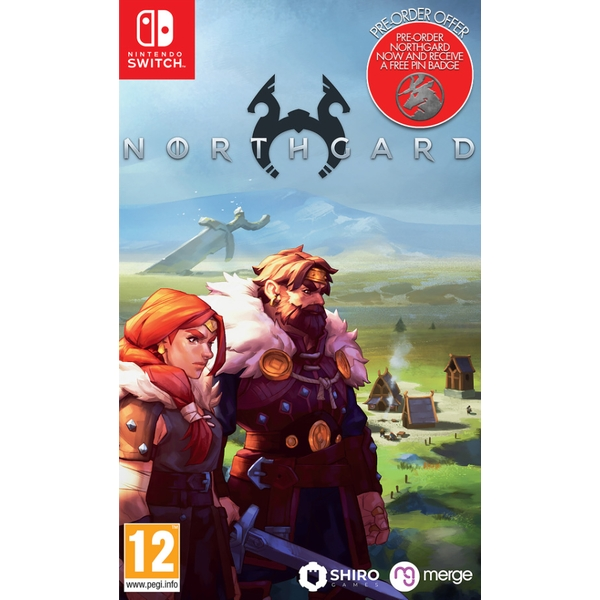 Northgard Nintendo Switch Game (with Pin Badge)