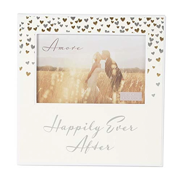"6"" x 4"" - AMORE BY JULIANA? Photo Frame - Happily Ever After"