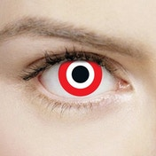 Assassin 1 Day Halloween Coloured Contact Lenses (MesmerEyez XtremeEyez)