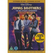 Jonas Brothers The Concert Experience 3D DVD