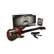 Guitar Hero Metallica Game + Wireless Guitar Controller Wii