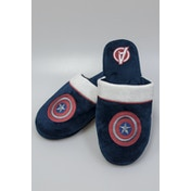 Marvel Captain America Adult Mule Slippers UK Size 8-10