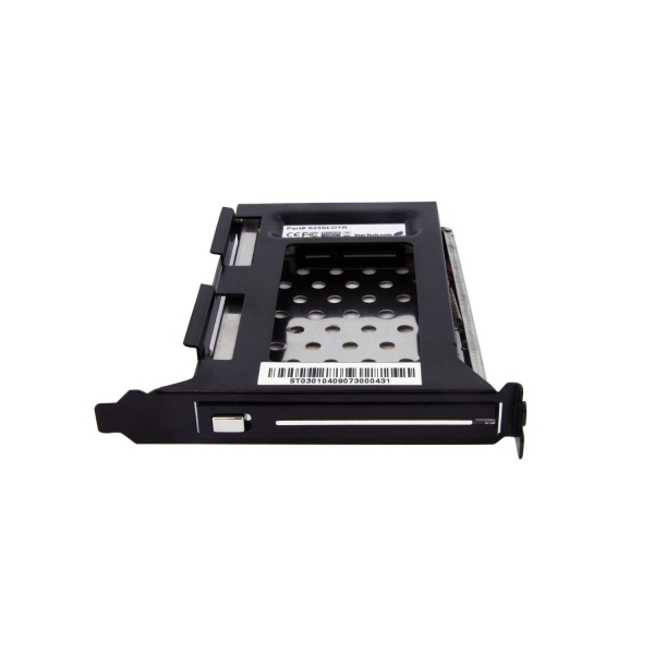 StarTech 2.5in SATA Removable Hard Drive Bay for PC Expansion Slot - Image 2