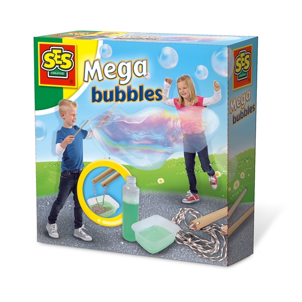 SES Creative - Children's Mega Bubbles Blower 5-12 Years (Multi-colour)