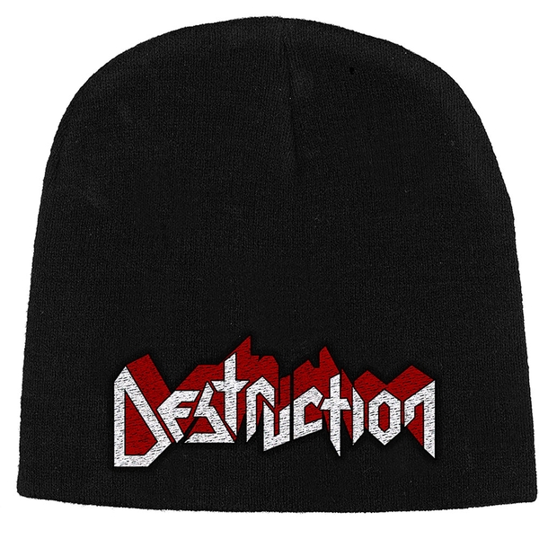 Destruction - Logo Unisex Beanie Hat - Black