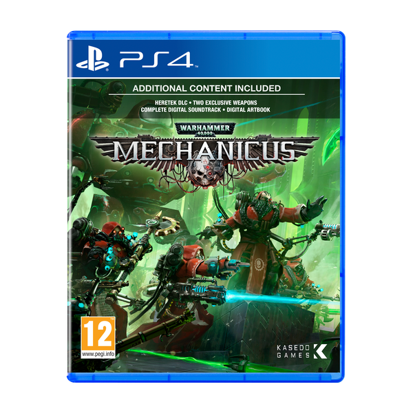 Warhammer 40,000 Mechanicus PS4 Game