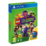 Lego DC Super Villains Mini-Fig Edition PS4 Game (Lex Luthor Figurine)