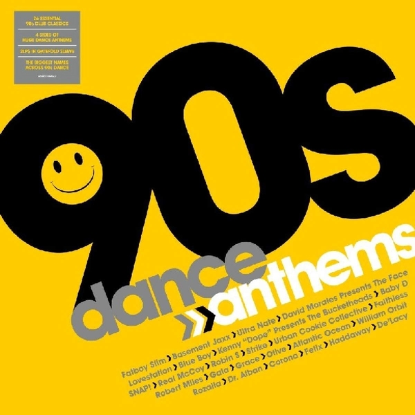 Various Artists - 90s Dance Anthems Vinyl