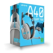 Astro A40 Headset + MixAmp M80 Blue Edition Gaming Headset Xbox One
