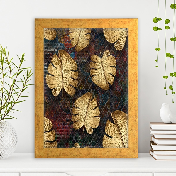 AC1588175797 Multicolor Decorative Framed MDF Painting