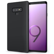 CASEFLEX SAMSUNG GALAXY NOTE 9 MATTE TPU GEL - SOLID BLACK