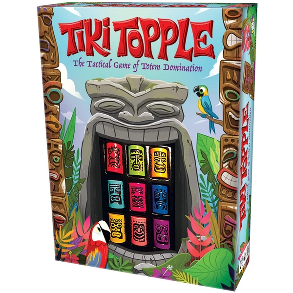 Image of Tiki Topple Board Game