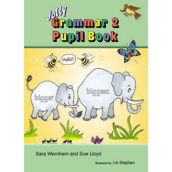 Grammar 2 Pupil Book: in Precursive Letters (BE) by Sue Lloyd, Sara Wernham (Paperback, 2013)
