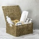 Seagrass Storage Basket with Lid | M&W - Image 2