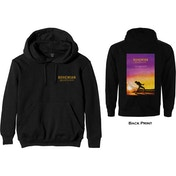 Queen - Bohemian Rhapsody Movie Poster Men's XXX-Large Pullover Hoodie - Black