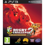 Rugby Challenge 2 The Lions Tour Edition Game PS3