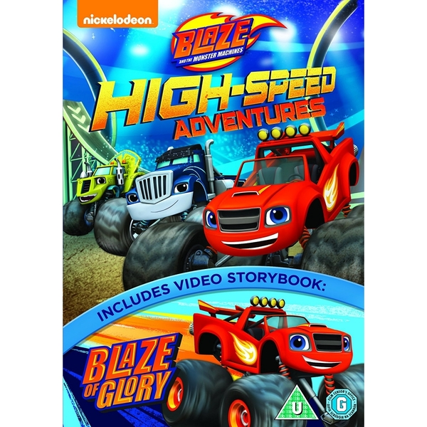 Blaze and the Monster Machines: High Speed Adventures DVD