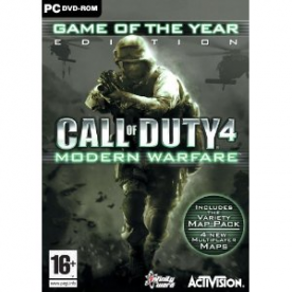 Call Of Duty 4 Modern Warfare Game Of The Year Edition (GOTY) Game PC
