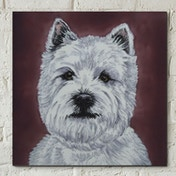 West Highland Terrier Wall Tile