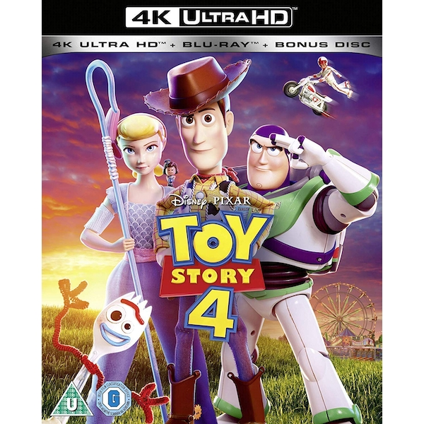 Toy Story 4 4K UHD + Blu-ray