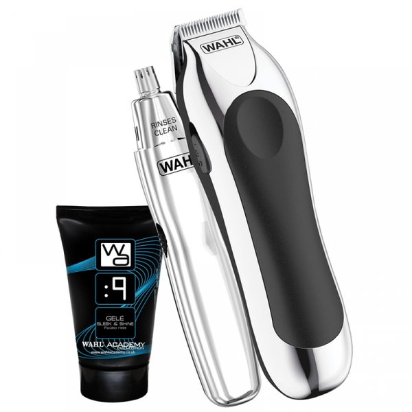 Wahl 9307-807X Battery Stubble & Beard Trimmer Gift Set