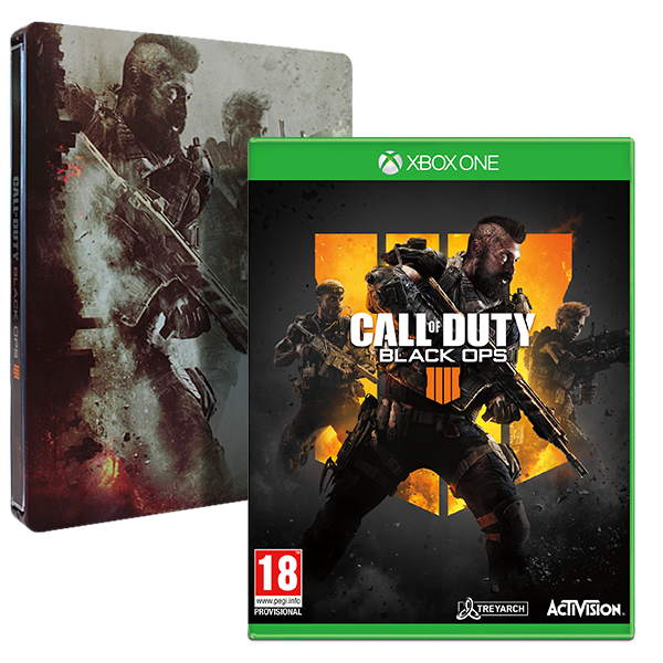 Call Of Duty Black Ops 4 + Steelbook Game Xbox One