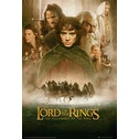 Lord Of The Rings Fellowship Of The Ring One Sheet Maxi Poster 61 x 91.5cm