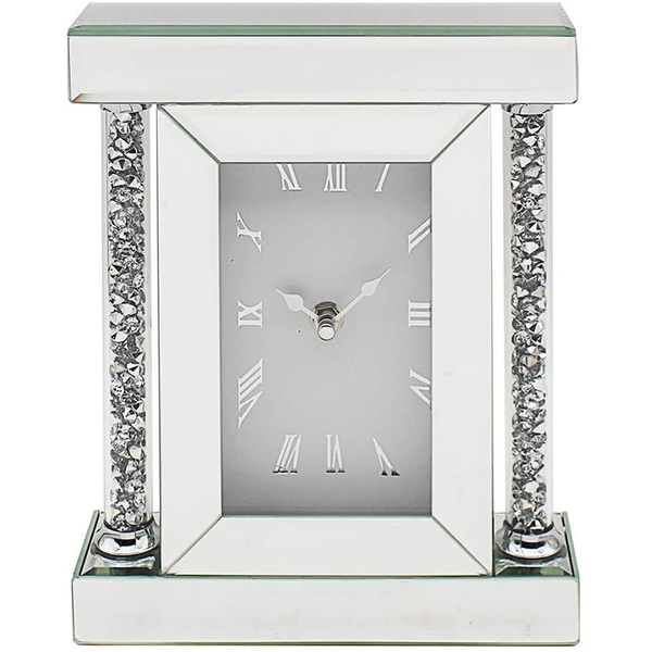 Crystal Clear Diamante Clock By Lesser & Pavey