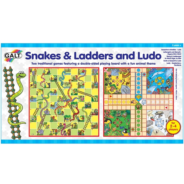 Galt Toys - Snakes and Ladders Ludo Game Set Board Game