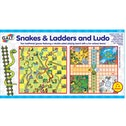 Galt Toys - Snakes and Ladders Ludo Game Set