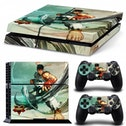 Street Fighter V Ryu PS4 Console and Controller Vinyl Sticker Kit