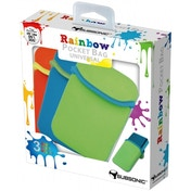 Subsonic Rainbow Pocket 3 Case Pack Orange, Blue, Green Nintendo 3DS