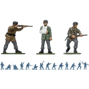 Airfix WWII German Paratroops Vintage Classics Figures 1:32 Scale Model Kit