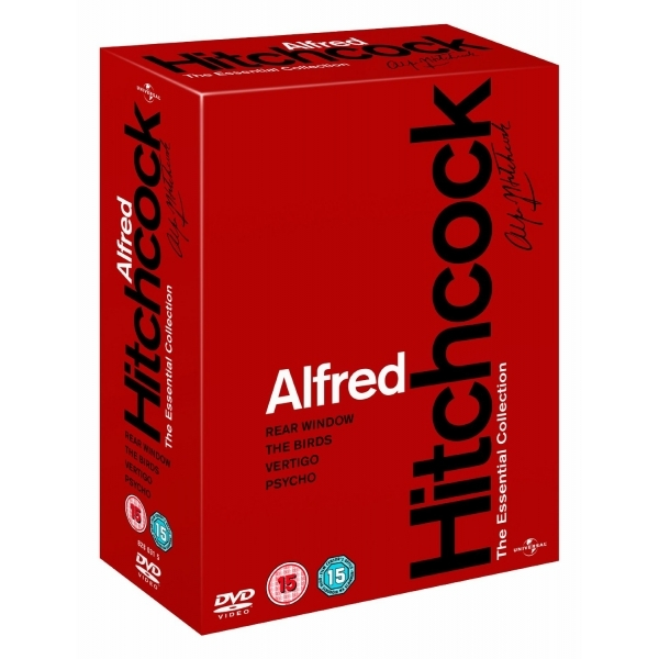 Alfred Hitchcock: The Essential Collection Box Set DVD